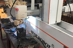 五轴自动焊接机【客户现场使用视频】