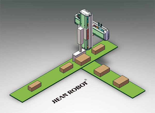 生产线分料装置